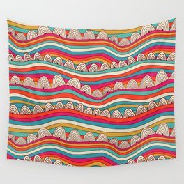 Trendy stripes Wall Tapestry