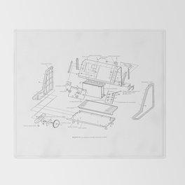 Korg VC-10 - exploded diagram Throw Blanket