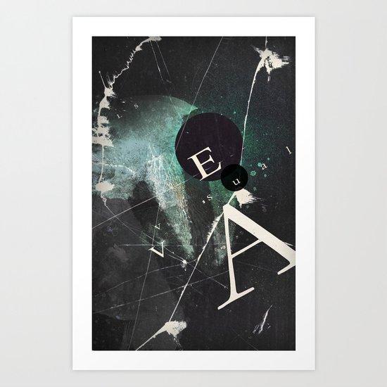 VEA 20 Art Print