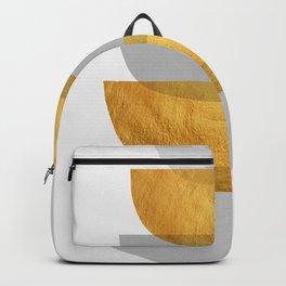 Abstract Golden Art XX Backpack