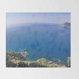 Italian Coast Throw Blanket
