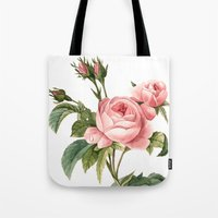 botanical Tote Bags featuring Botanical by Goga Alexandra