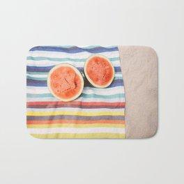 Beach Watermelon Bath Mat