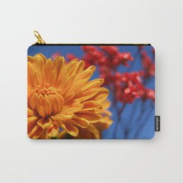 Bright, Vibrant, Happy Flowers Carry-All Pouch