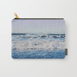 Indigo Waves Carry-All Pouch