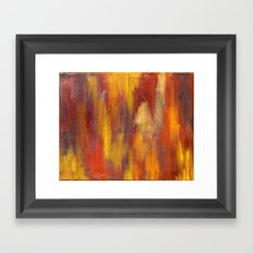 Salty Crude Oil Framed Art Print