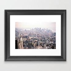 New York City Flatiron District Framed Art Print
