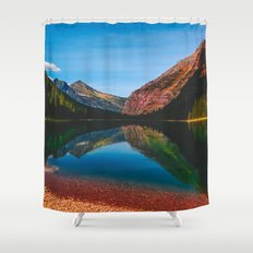 Somewhere in the Rockies Shower Curtain