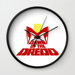Dawn of the dredd Wall Clock