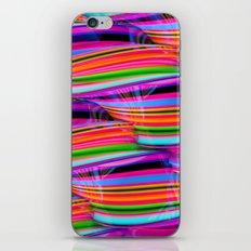 Curved Disco World iPhone & iPod Skin
