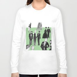 Black Tie Long Sleeve T-shirt