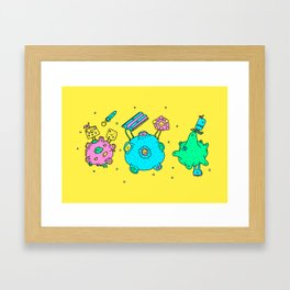 We forgot the crackers Framed Art Print