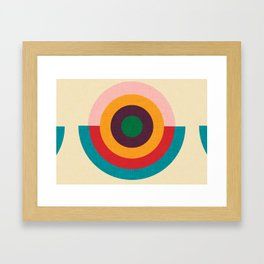 Solaris #homedecor #midcenturydecor Framed Art Print