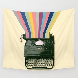 01 Wonderful typewriter Wall Tapestry