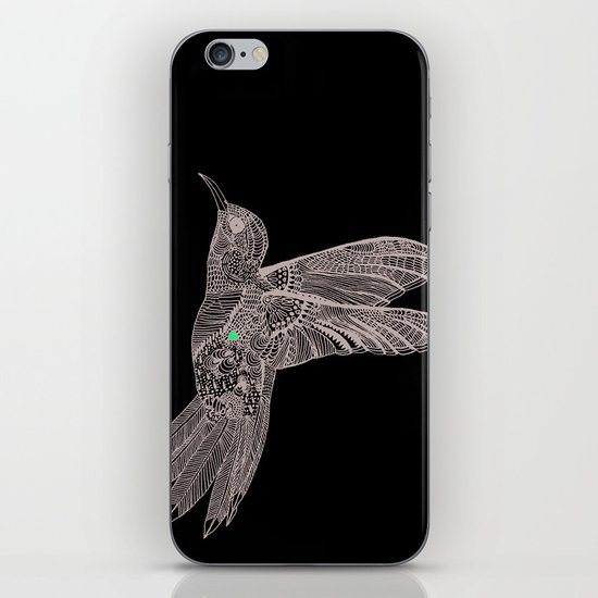 Love bird iPhone & iPod Skin