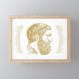 Holy Beard Framed Mini Art Print