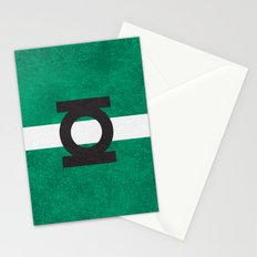 Color Greens Stationery Cards