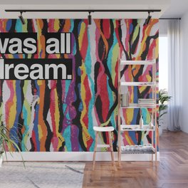 """""""It Was All A Dream"""" Biggie Smalls Inspired Hip Hop Design Wall Mural"""