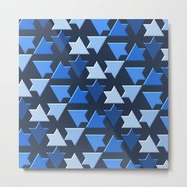 Geometrix 156 Metal Print