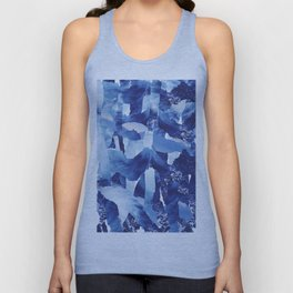 Nautical abstract pattern Unisex Tank Top