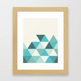 GEO TONE Framed Art Print