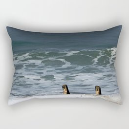 Stairs and Sea Rectangular Pillow