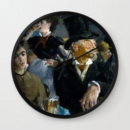 Édouard Manet - The Café-Concert Wall Clock