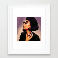 nicki Framed Art Prints featuring Nicki  by markclarkii