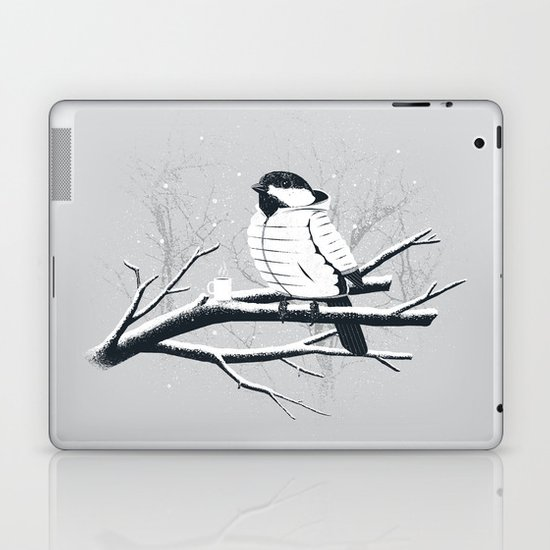 North For The Winter (Gray). Laptop & iPad Skin