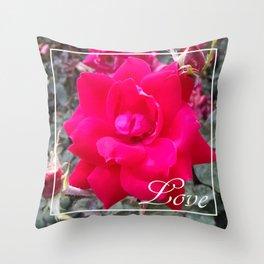 Rose Love Throw Pillow