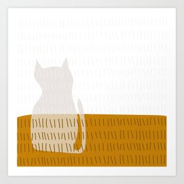 Coit Cat Pattern 3 Art Print