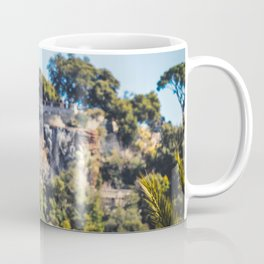 Seagull in the center of Nice, France Coffee Mug