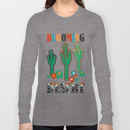 Southwest Cactus Long Sleeve T-shirt