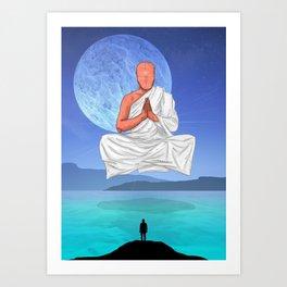 Water Chakra. Art Print