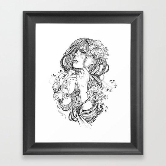 From A Tangled Dream Framed Art Print
