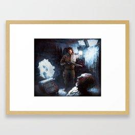 Thule Station Framed Art Print