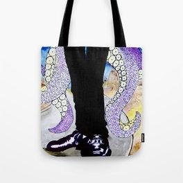 Dapper Octopus Tote Bag