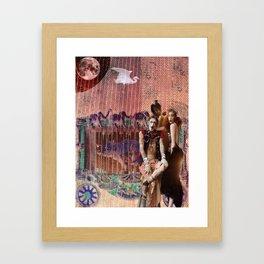 Cirque de la Lune, Pt. 2 Framed Art Print