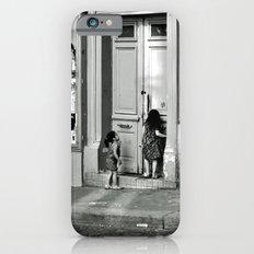 Paris, ringing the door bell Slim Case iPhone 6s