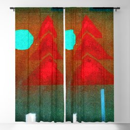 Wassily Kandinsky Almost Submerged Blackout Curtain