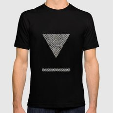 Oh Alah MEDIUM Black Mens Fitted Tee