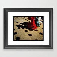 Smells like Spain... Framed Art Print