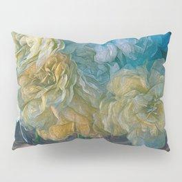 Vintage Still Life Bouquet Painting Pillow Sham