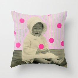 A Pinch Of Neon Throw Pillow