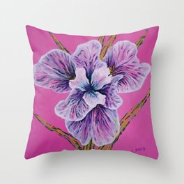 On Persian Pink Throw Pillow