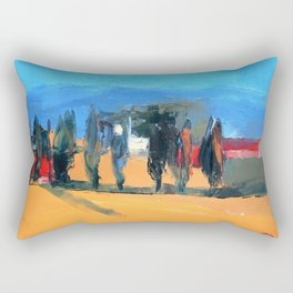 "''Tuscany"" by Diana Grigoryeva Rectangular Pillow"