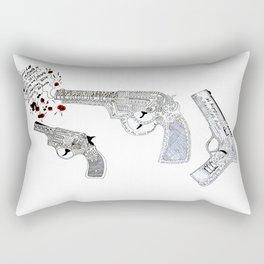 Shoot by art Rectangular Pillow