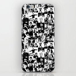 Elvis Presley pattern iPhone Skin