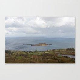 Lone Bright Isle Canvas Print