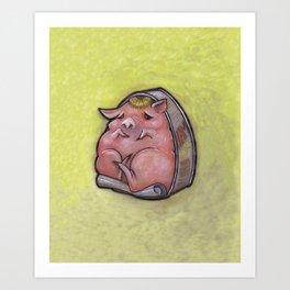 Canned Ham Art Print
